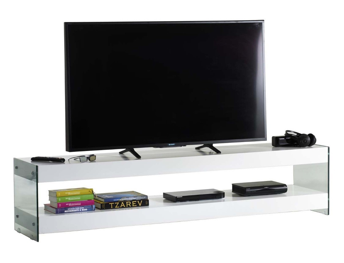 Clubber mobile porta tv design moderno in legno e vetro - Porta tv design moderno ...