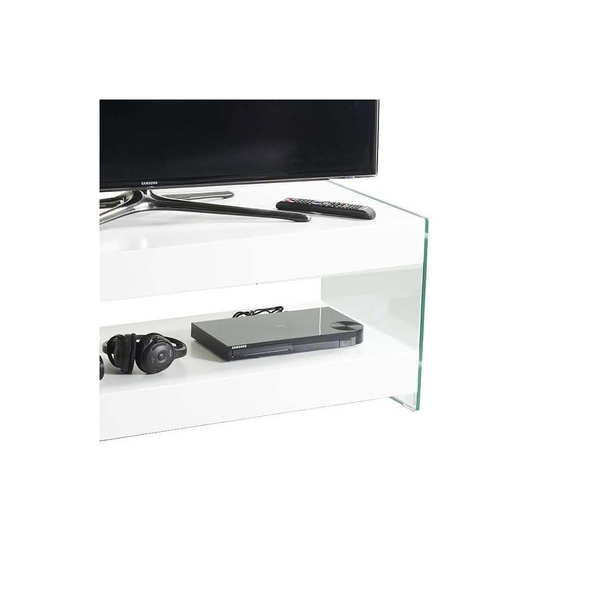 Clubber mobile porta tv design moderno in legno e vetro - Porta tv design moderno ...