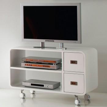 Carrello porta televisore in legno MDF 95 cm Bennett