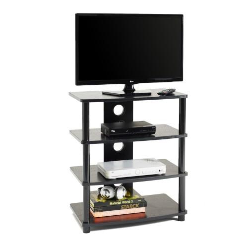 Mobile porta TV con passacavi in legno MDF e metallo Style