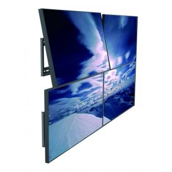 Staffa a parete inclinabile per applicazioni videowall Mywall1