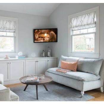 Staffa tv ad angolo da parete inclinabile e girevole Etrier2