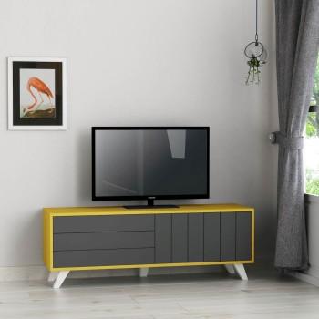 Axten mobile per tv grandi LCD/LED in legno melaminico vari colori