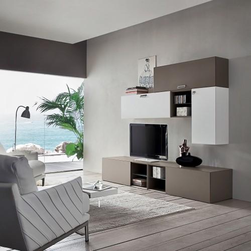 Mobili per soggiorno moderno in legno marko for Mobili x soggiorno moderni