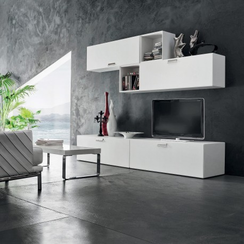 Mobili da soggiorno per tv moderni otto for Mobili per soggiorno