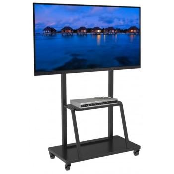 Mobile porta TV grandi dimensioni su ruote Benton