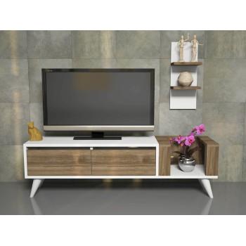 Mobiletto per televisore design con mensola Everard