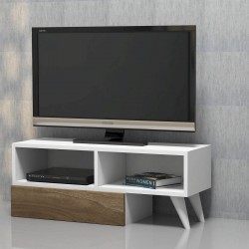 Porta TV design per arredo soggiorno in legno 140 cm Gratian