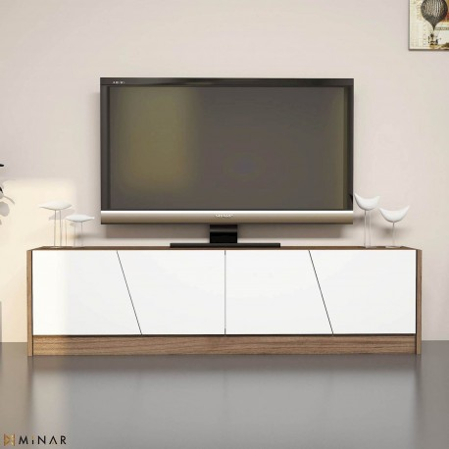 Mobiletto per televisore in legno 150 cm con ante Heron