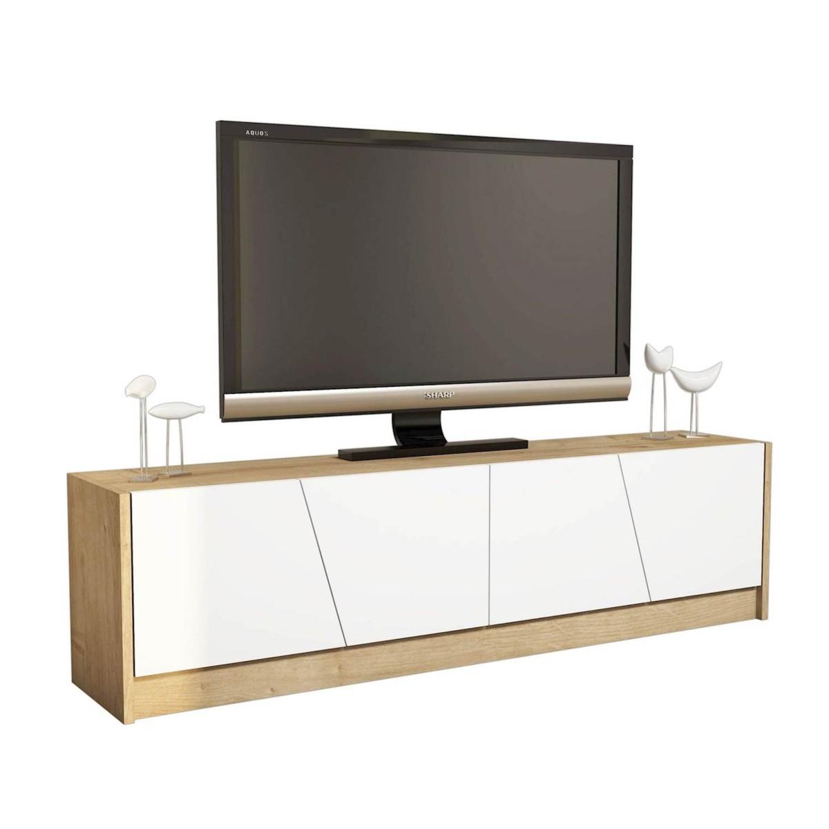 Mobile tv moderno per soggiorno 150 cm heron for Mobile soggiorno moderno