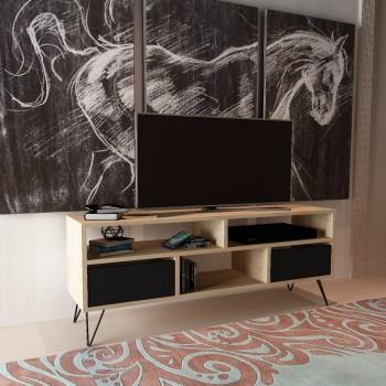 Porta televisore design moderno in legno 120 cm Kegan