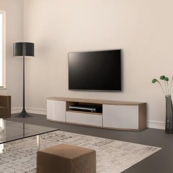 Mobiletto per televisore design moderno in legno Jacinda