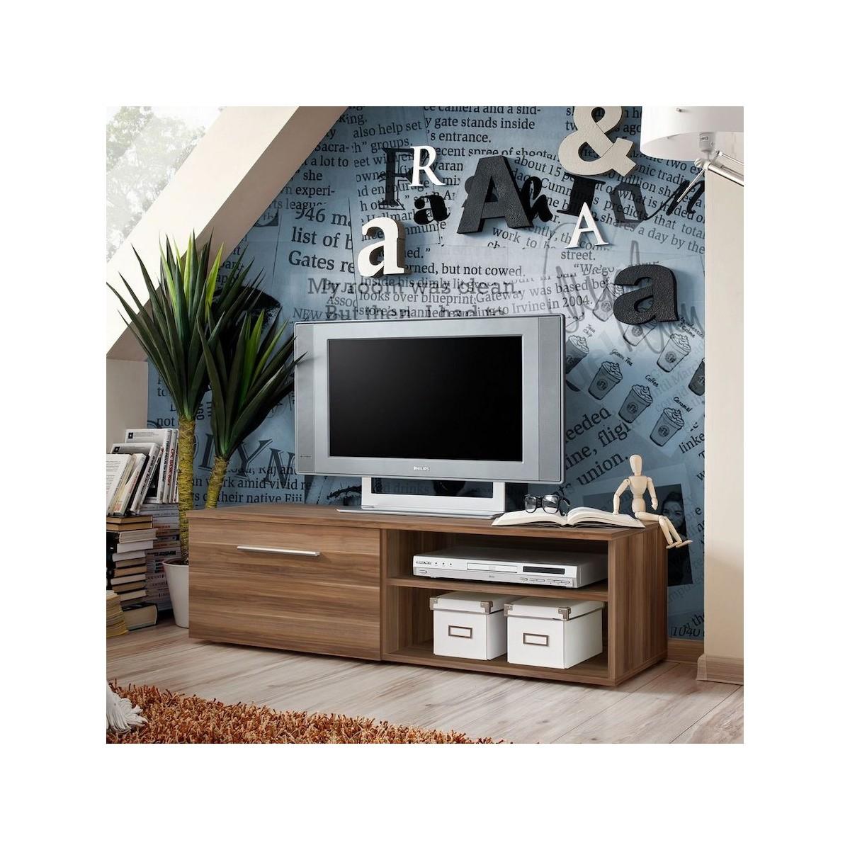 Mobiletto tv per soggiorno o camera da letto mariel for Mobiletto camera