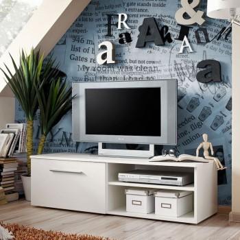 Mobiletto TV per soggiorno o camera da letto 120 cm Mariel