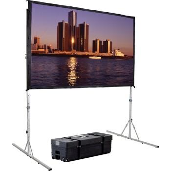 Schermo per proiettori portatile per eventi e fiere o noleggi KitScreen 4:3