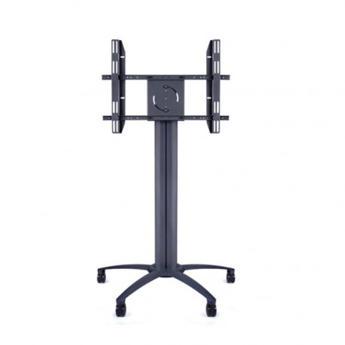Carrello televisione rotabile orizzontale/verticale in alluminio Learn2