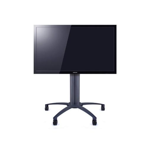 Carrello porta televisione o monitor touch per sale attesa o informazioni Learn3
