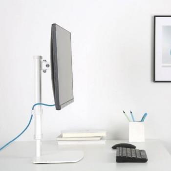 Supporto per monitor da tavolo regolabile in altezza ed inclinabile Mikka