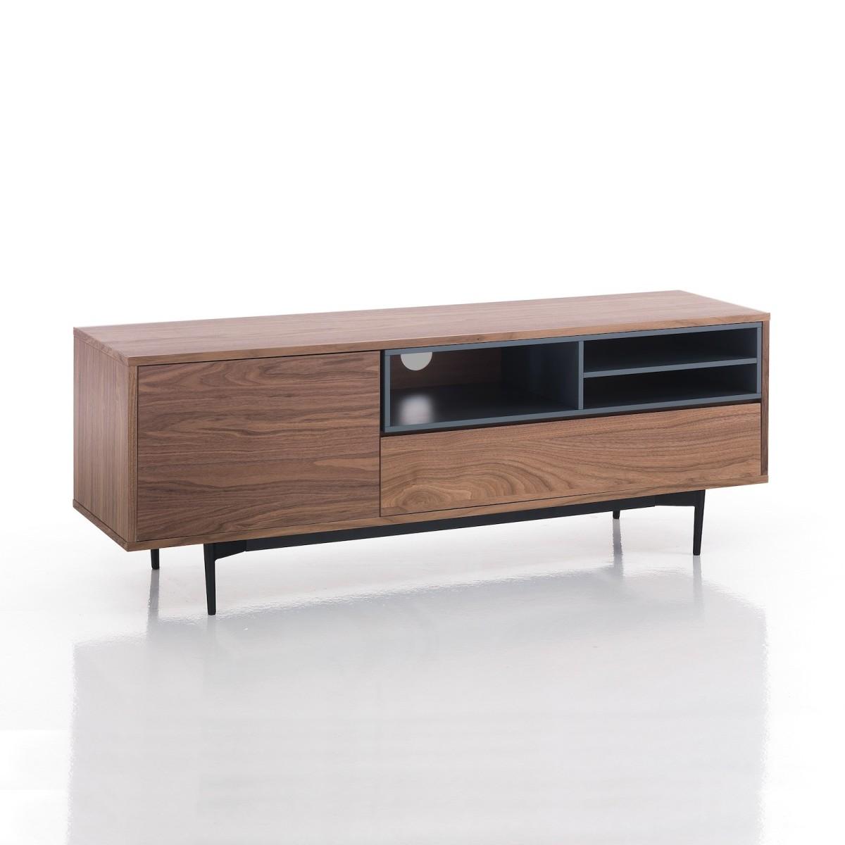 Mobiletto per televisore design moderno in legno MDF Nick